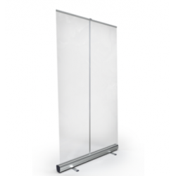 Clear or Printed Rollup Banner