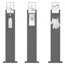 Select from Glove Dispensers, Elbow and Automatic liquid dispensers