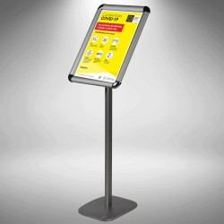 Sentry Stand with changeable poster