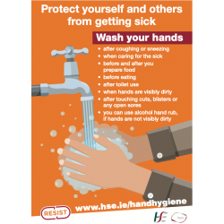 HSE Signs - Hand Hygiene