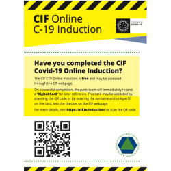 CIF - Have you an induction...