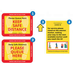 Safe Queue Kit for Retailers