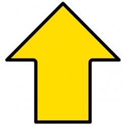 Direction Arrow Floor Sign